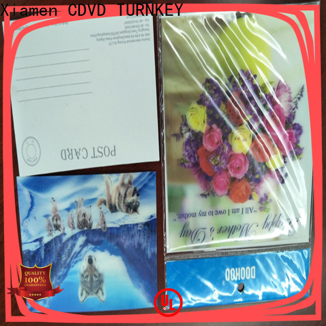 TURNKEY Top 3D lenticular printing Supply