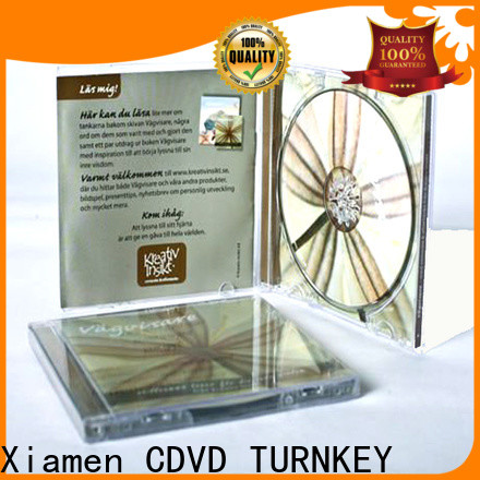 TURNKEY mini double cd jewel case manufacturers for factory buildings