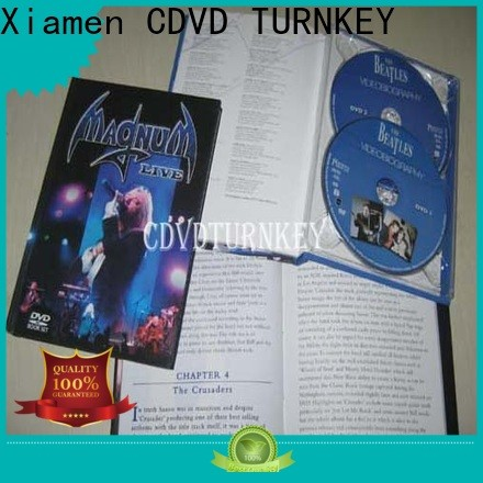 TURNKEY Top dvd holder book factory refectory