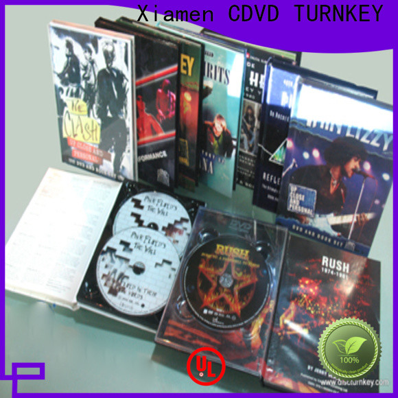 TURNKEY cover dvd holder book Suppliers refectory