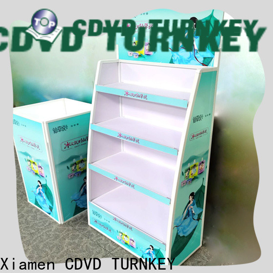 TURNKEY hand cardboard display boxes factory for sea port