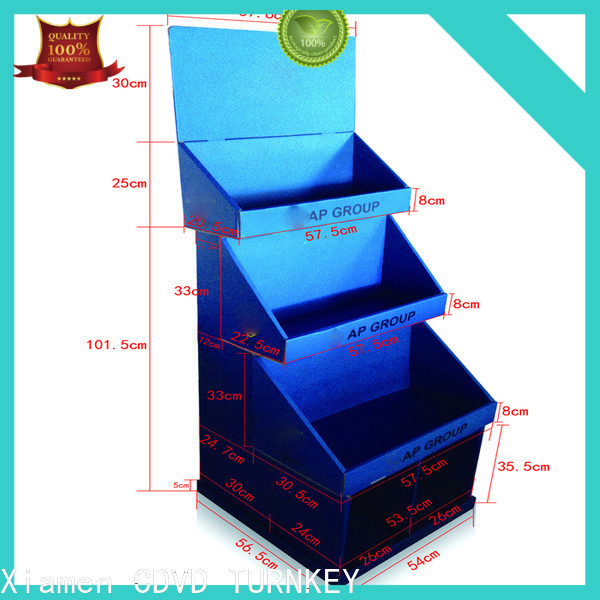 TURNKEY corrugated cardboard display boxes Supply for air port