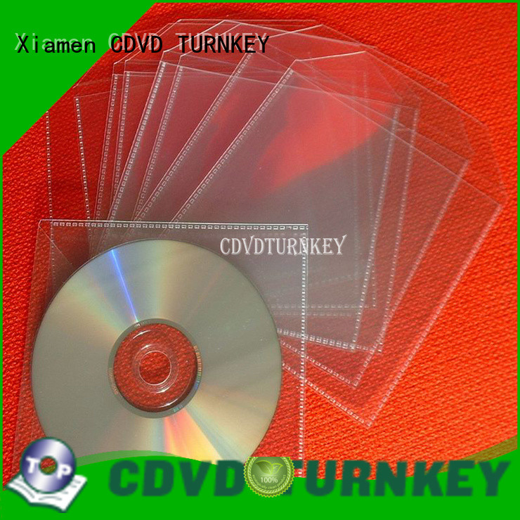useful plastic cd sleeves clear directly sale for water conservancy