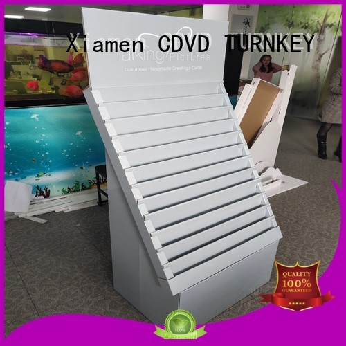 TURNKEY corrugated cardboard display boxes factory for air port