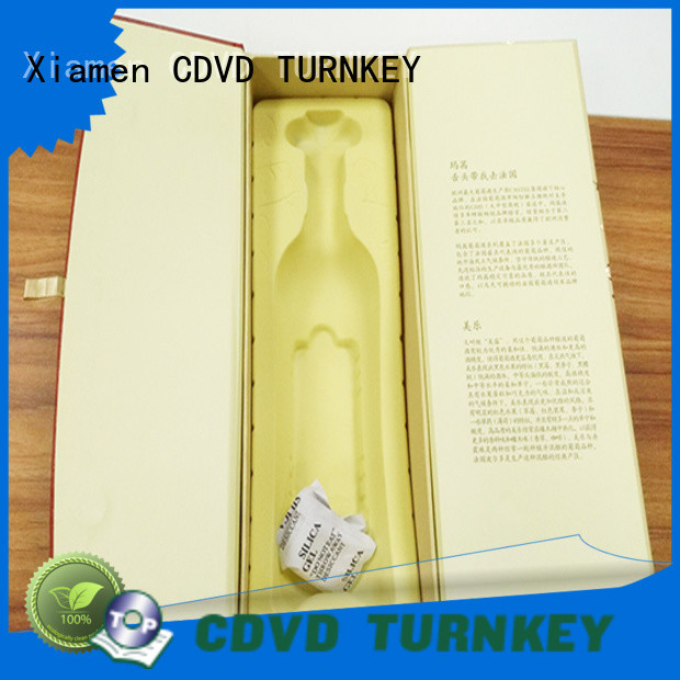 TURNKEY hot-sale wine gift box packaging manufacturer for school