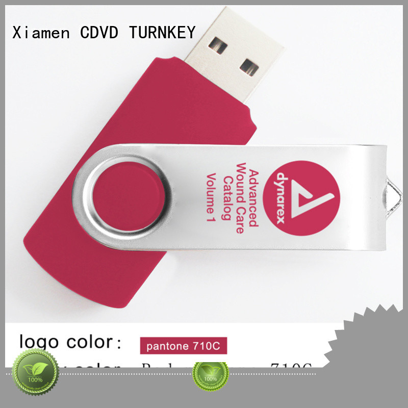 TURNKEY metal memory stick promotion daily supplies