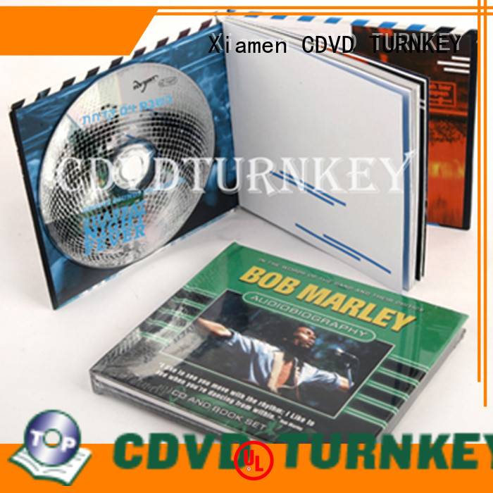 TURNKEY unique cd book directly sale dining-hall