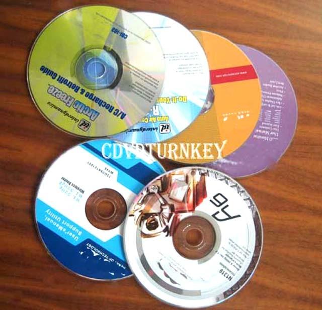 12cm bulk music cd replication and printing