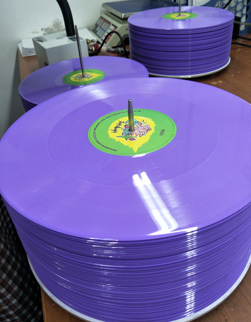 Splatter record and solid & translucent color and mixed color and picture record