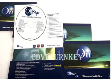 Audio Compact Disc Track Lineup include guide, security stickers,quick reference card, terms and conditions