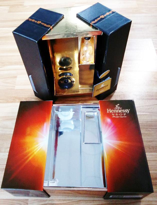complex paper cardboard wine gift box