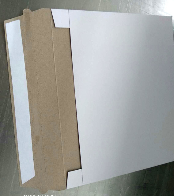 C4 cardboard envelopes by 350g grey board without printing