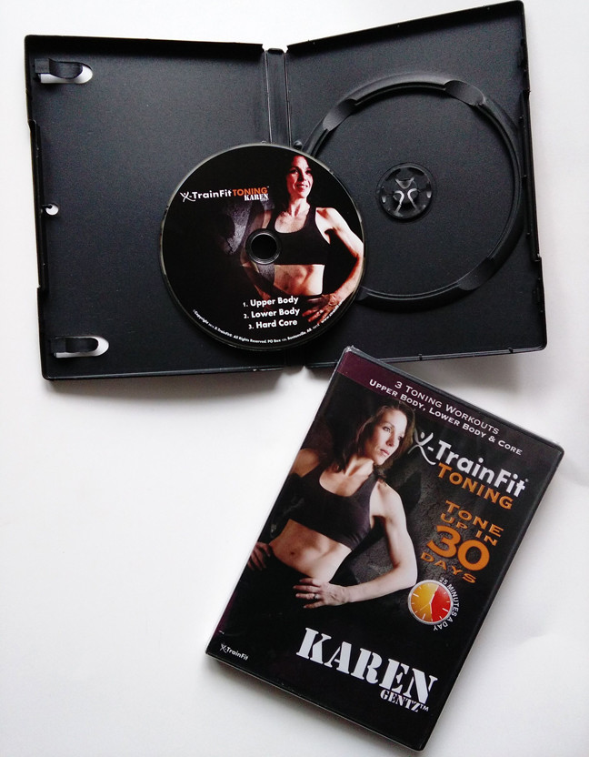 fitness DVD replication be packed black&clear dvd case