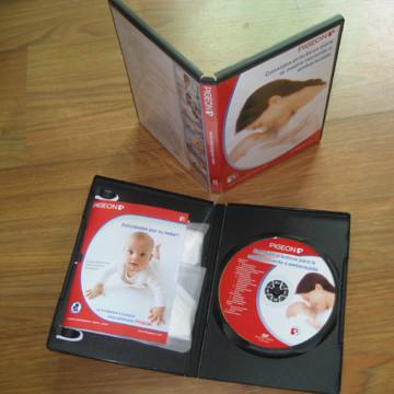 4pcs dvd in dvd case package