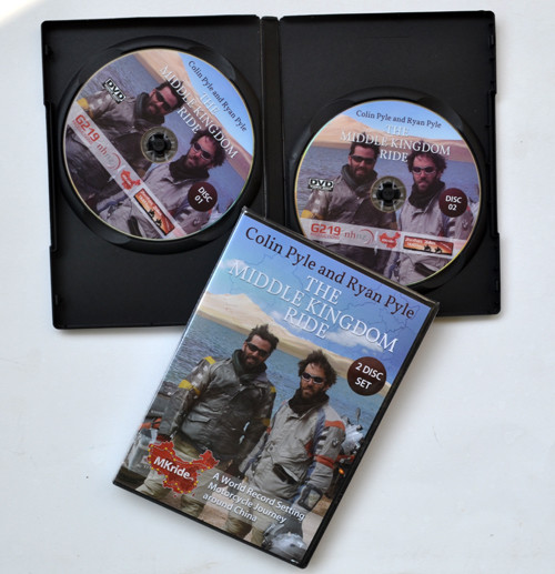 4pcs DVD In DVD Case Package