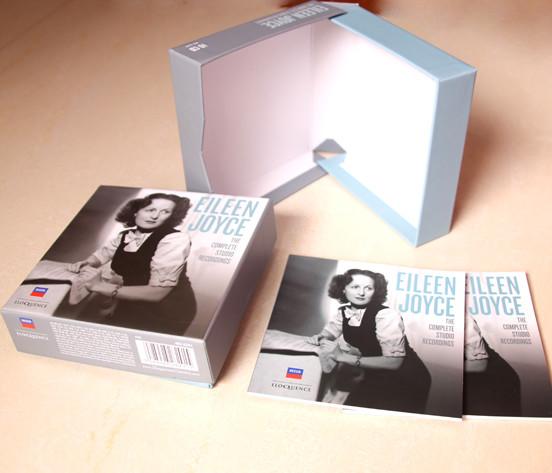 Best OEM rigid multi-CD DVD Clam shell box cd  C-SHELL BOX Supplier