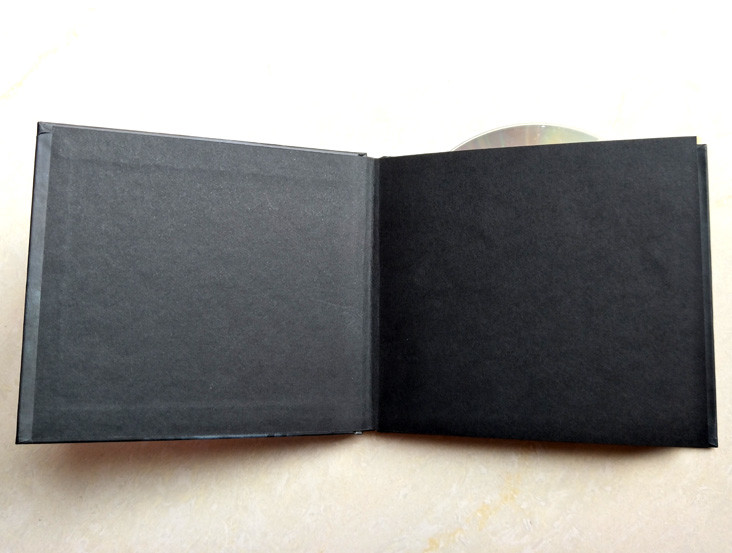 cd hardcover books with one wallet for one cd disc