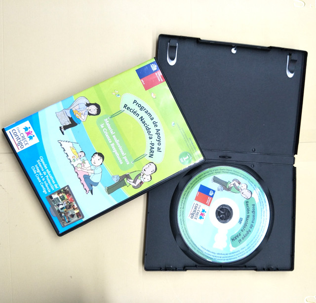 Baby Care Video DVD replication with dvd case packaging