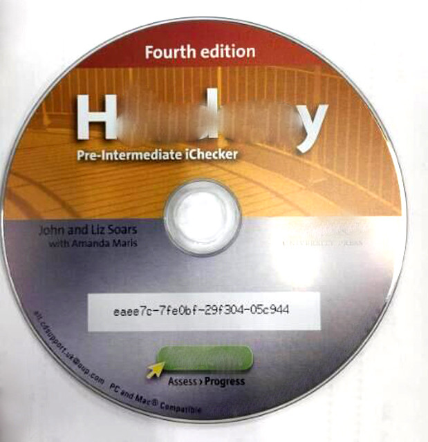 CD with serial number printing and packaging