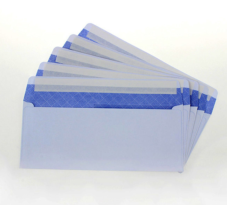 Strong self-adhesive Security window envelope