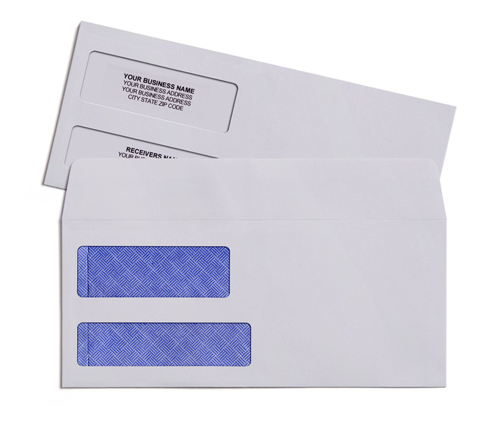 80g 100g 120g Security single or double window envelope