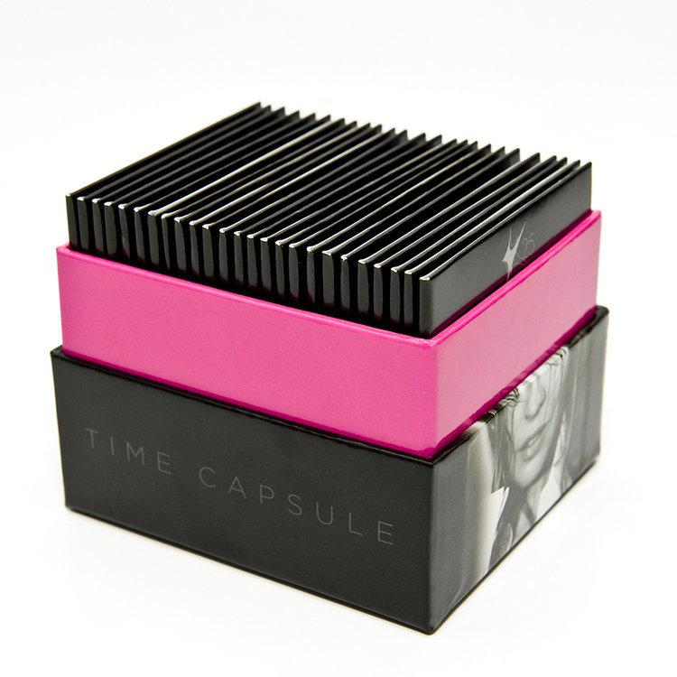 5 Sides Open Hard CD Box Set Of Digipak&Cardboard Packaging music cd gift box