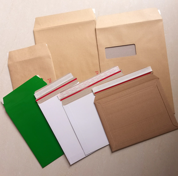 customized kraft white brown or color board Envelope