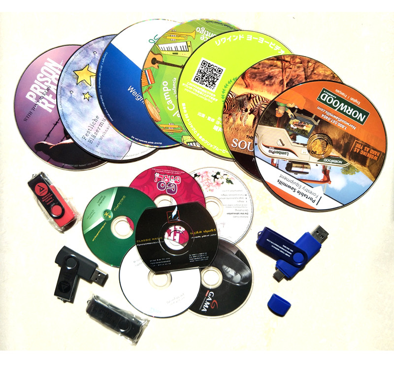 15 years China CD DVD replication and printing and USB factory