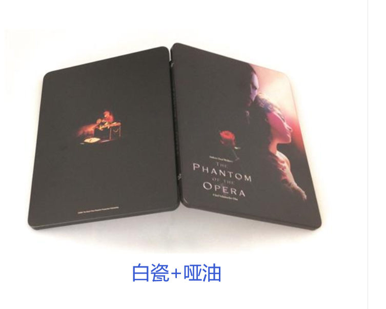Blu-ray steel book/Tin box:172*133*14mmH
