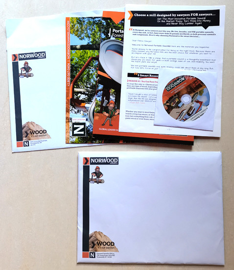 Catalog booklets price list flyer with cd/dvd/usb and envelope as advertisement material packaging solution