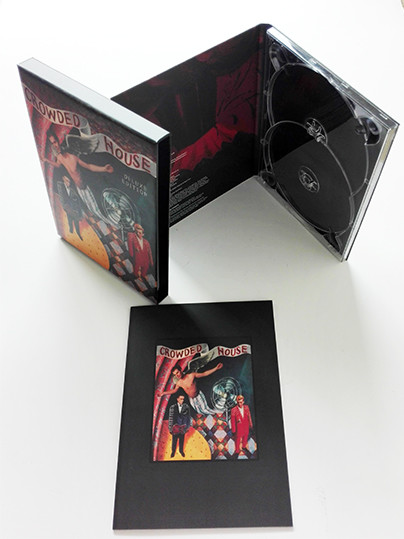 Eco CD DVD gift box dvd storage box case DVD digipak with slipcase & books printing