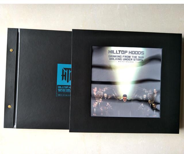 multi 14 PCS LP Vinyl cardboard wallets Lenticular slipcase box Oem With Good Price-TURNKEY