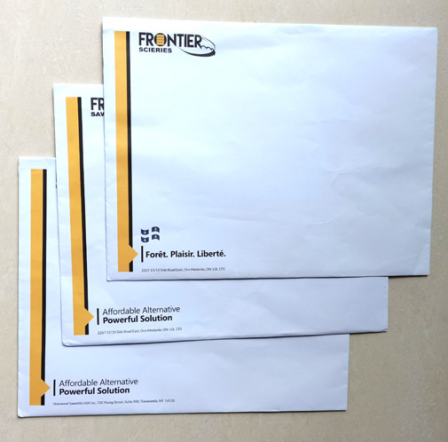 color printed 160g big size envelopes of advertising mailing