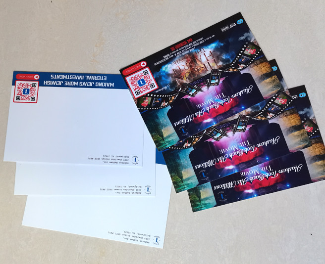 PP postcard two sides printing free inspriation for marketing promotional purpose