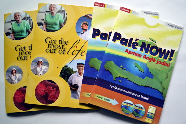 30years professional Saddle Stitching Book Brochure Leaflets Instruction and Flyer supplier