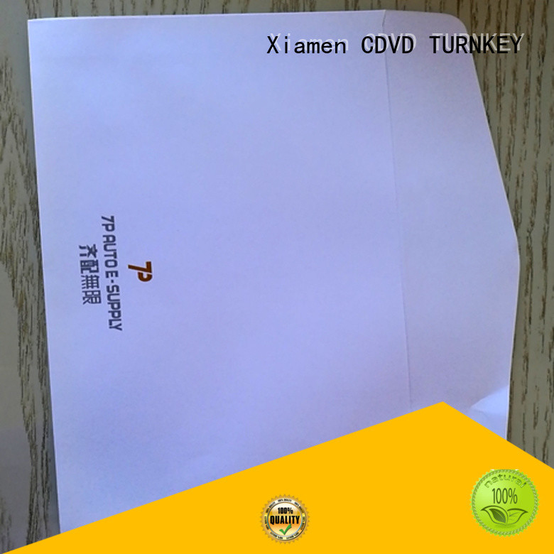 TURNKEY c4 craft paper envelopes services for hotel