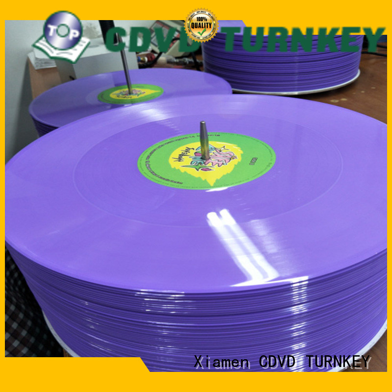 TURNKEY solid record pressing directly sale for wedding ceremony