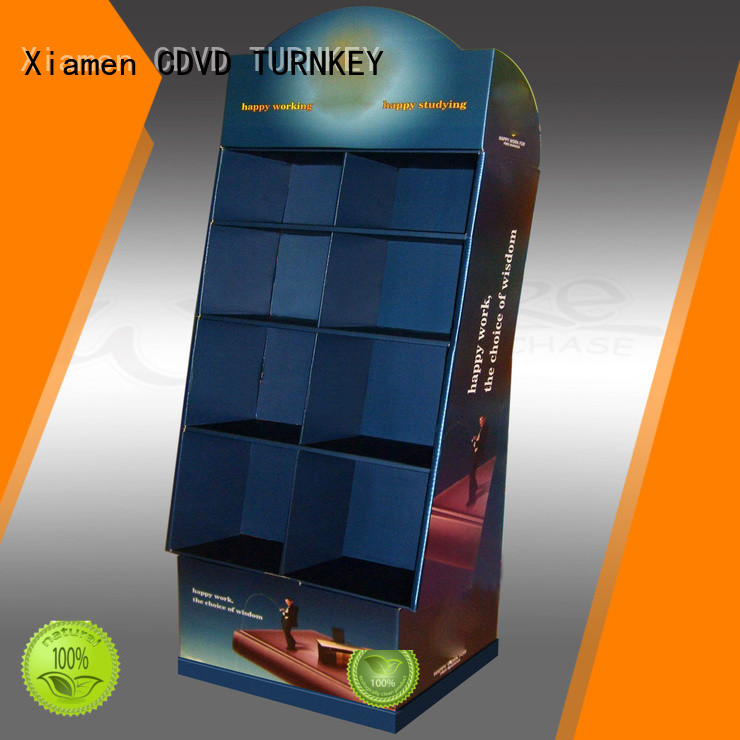 TURNKEY display corrugated printing box wholesale suppliers for air port