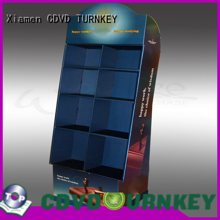 TURNKEY Top cardboard display boxes factory for air port