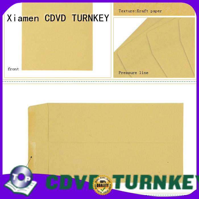 TURNKEY color brown kraft envelopes directly sale for garden