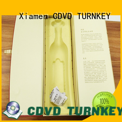 TURNKEY pattern wine gift box packaging for business for school