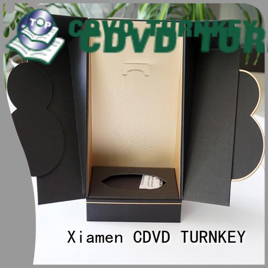 elegant wine box cardboard pattern environmental protection for school