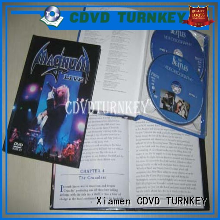 TURNKEY cover cd book promotion dining room