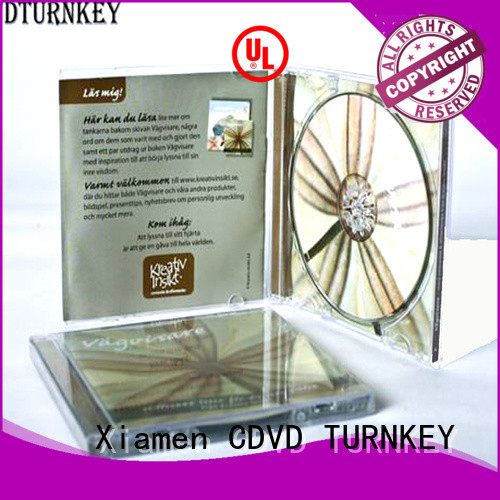 TURNKEY High-quality multi cd case packaging for business for tower