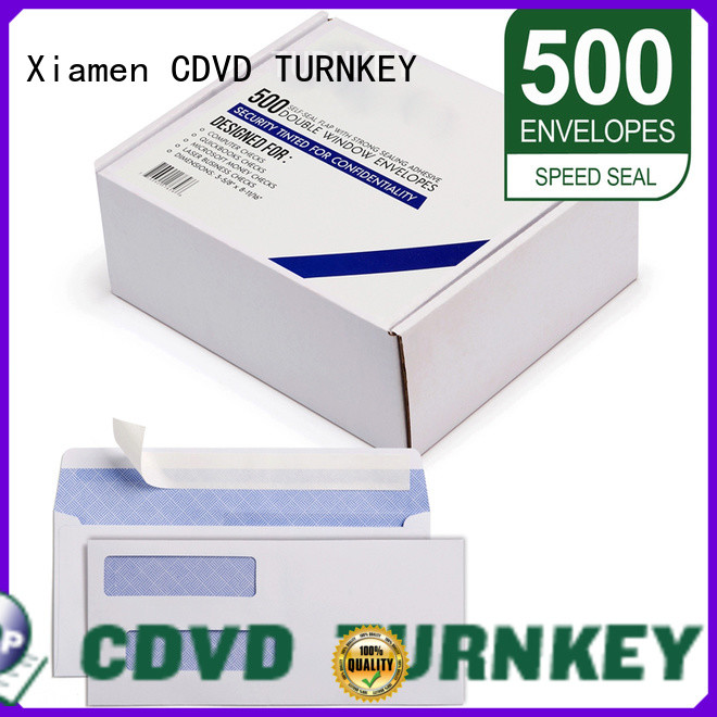 TURNKEY widely used envelope with windows directly sale for kitchen