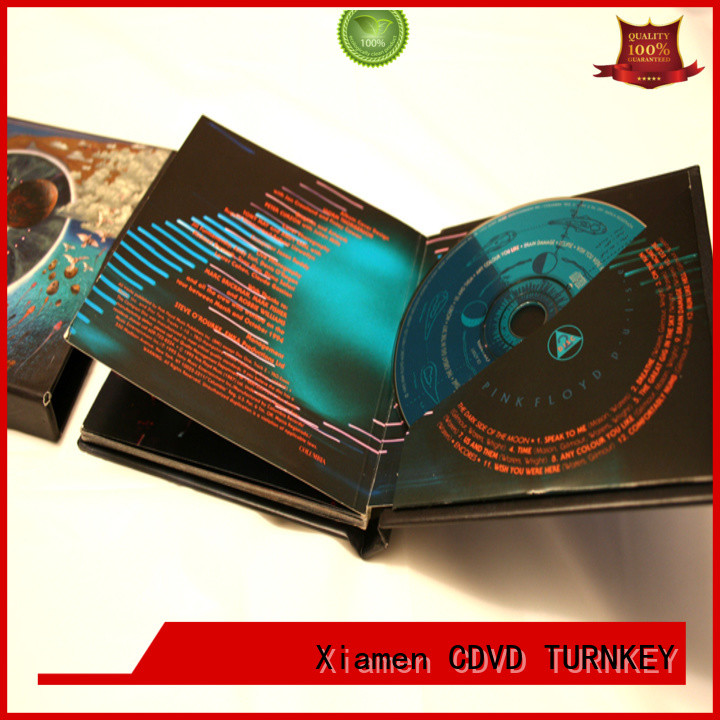 good quality cd book manufacturing directly sale refectory