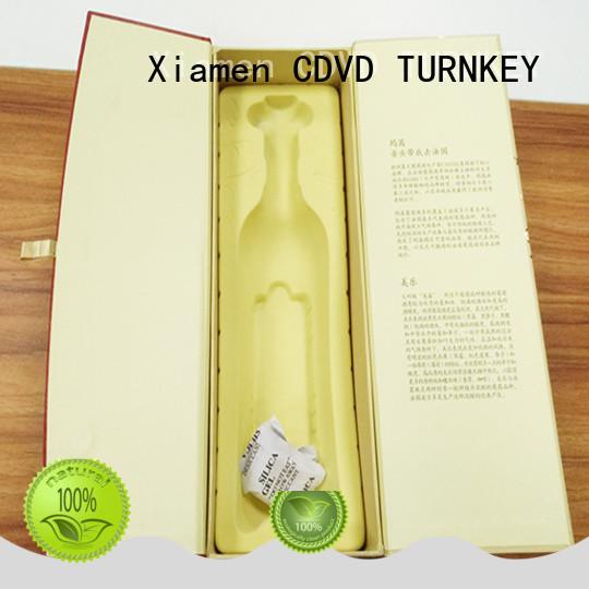 TURNKEY 1200gsm wine presentation box manufacturer for work