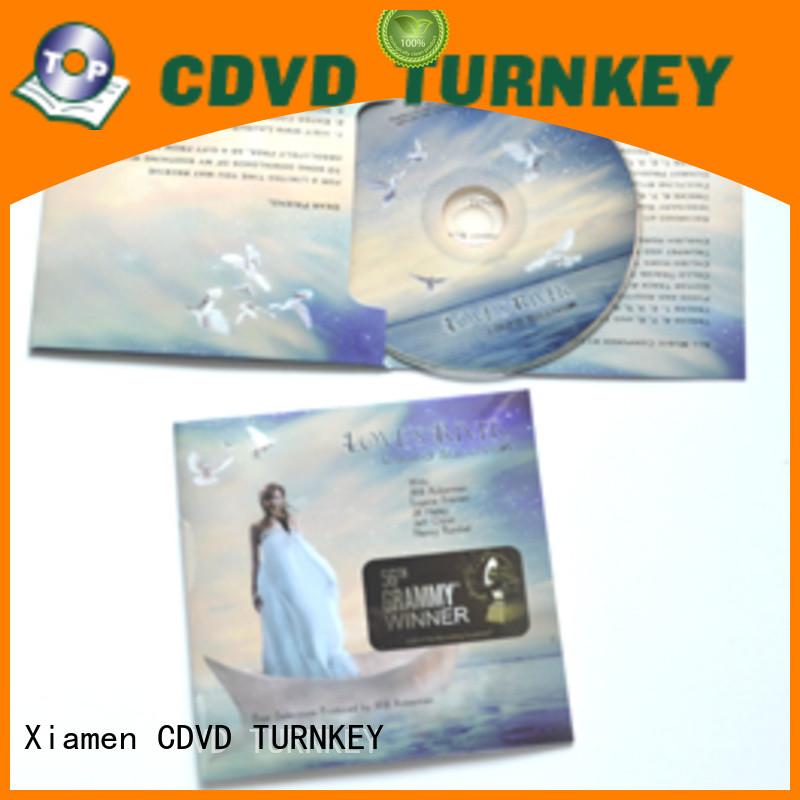 TURNKEY jacket cd cardboard packaging Supply for buildings