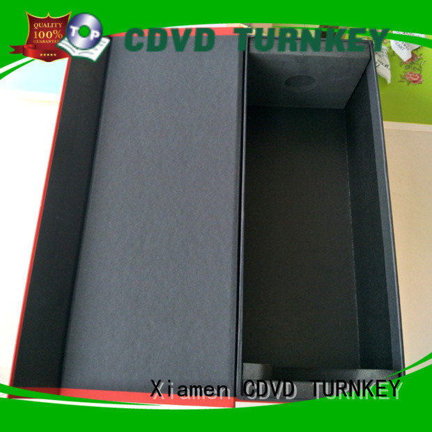 TURNKEY Custom wine gift box factory for school