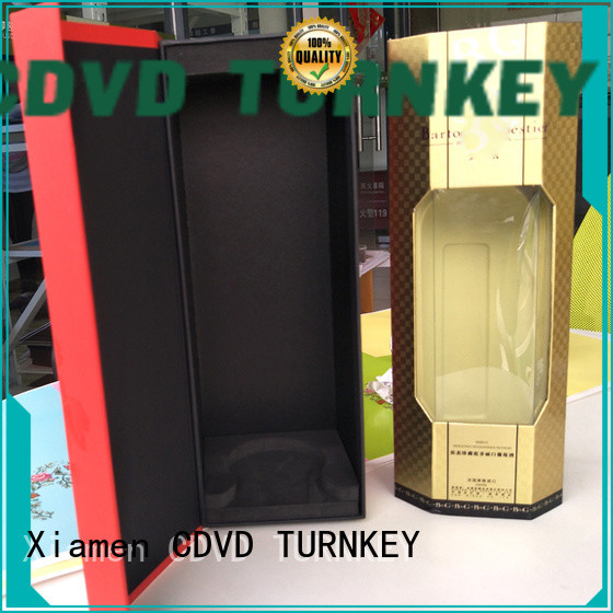 TURNKEY bottle wine box cardboard directly sale for work